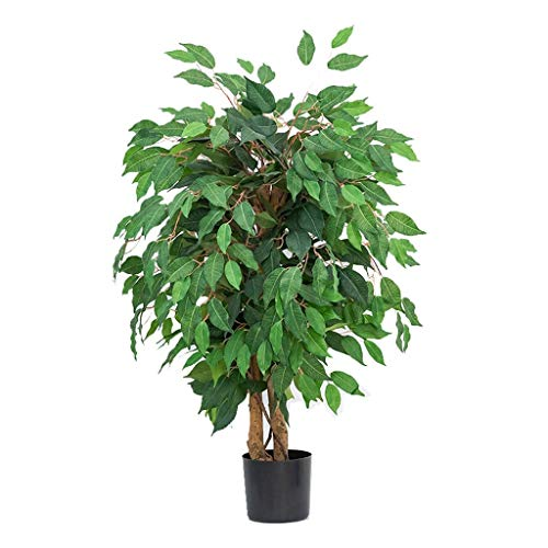 Artificial Plants Artificial Weeping Fig Tree Simulation Plant Large False Tree Living Room Interior Storefront Decoration Green Plant Artificial Flora (Color : A)