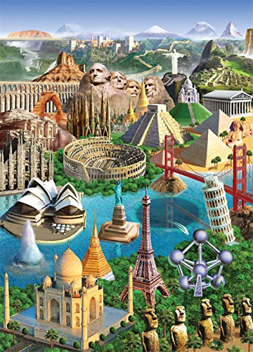 65Tdfc - Pintura Digital De Bricolaje - Lugares De Interés - Pintura Al Óleo Digital, Decoración De Lienzo Pintar Por Números Para Adultos Y Niños Kits