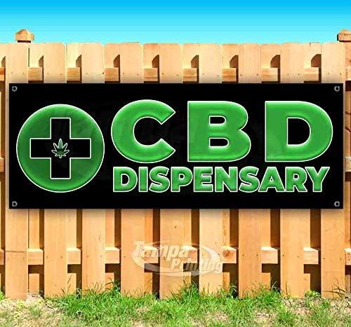 CBD ICEE 13 oz Banner Heavy-Duty Vinyl Single-Sided with Metal Grommets