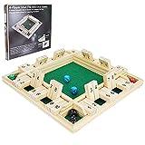 Win SPORTS Shut The Box Dice Game,Wooden Board Table Math...