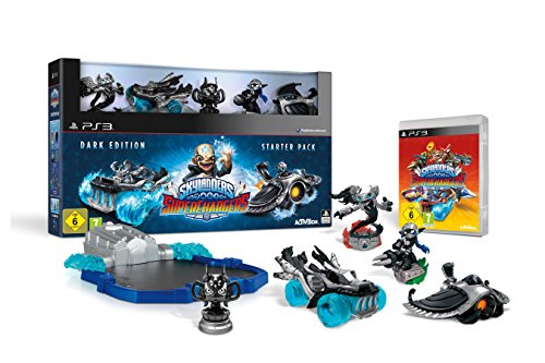 Skylanders SuperChargers: Starter Pack - Dark Edition - [PlayStation 3]