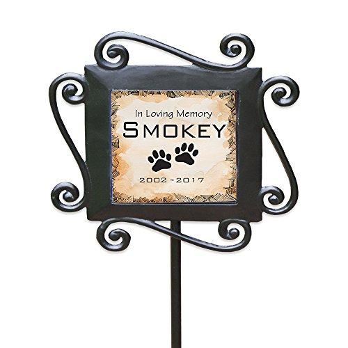 GiftsForYouNow Personalized Pet Memorial Garden Stake