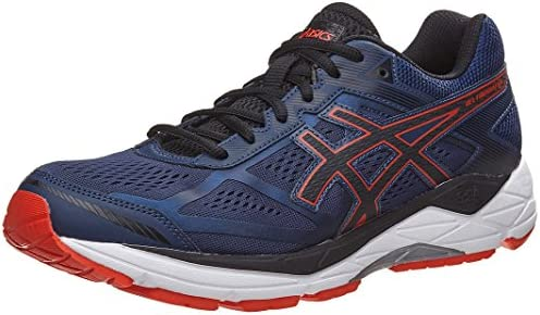 ASICS Men s Gel Foundation 12 Blue Orange 8 D product image