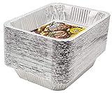 eHomeA2Z Aluminum Pans Disposable Half Size (30 Pack) 9