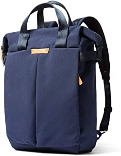 "Bellroy Tokyo Totepack, Water-Resistant Woven Convertible Backpack and Tote Bag (15"" Laptop, Tablet, Notes, Cables, Drink Bottle, Spare Clothes, Everyday Essentials) - Ink Blue"