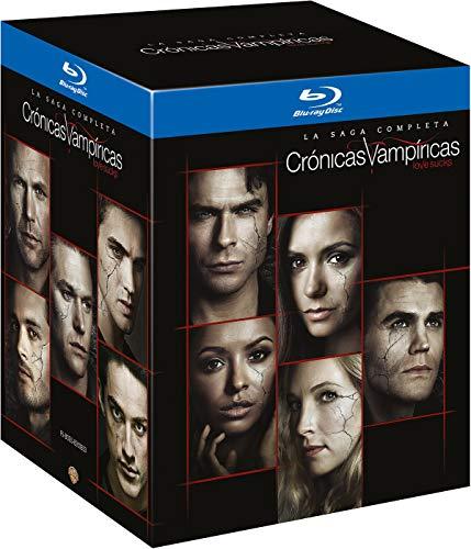 Cronicas Vampiricas Temporada 1-8 (Serie Completa) Blu-Ray [Blu-ray]