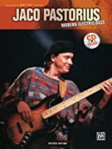 Modern Electric Bass - Jaco Pastorious - Bk+CD