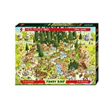 Heye- Black Forest Habitat Puzzle, Multicolor (HY29638)