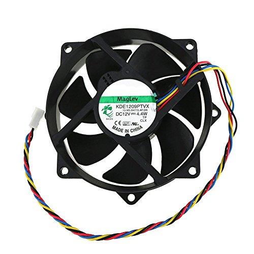 Ventilador redondo CPU KDE1209PTVX 12V 4.4W 9025 4 Pin Ventilador magnético