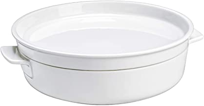 Clever Cooking Round Baking Dish with Lid by Villeroy & Boch - Premium Porcelain Baking Dish - Made in Germany - Dishwashe...