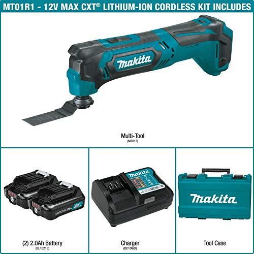 Makita MT01R1 12V CXT Lithium-Ion Cordless Multi-Tool Kit