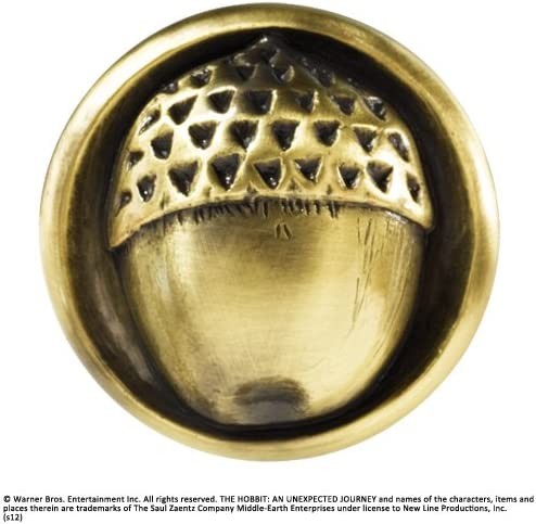 The Noble Collection Lord of the Rings Bilbo Acorn Brooch