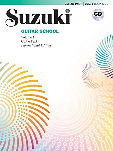 Suzuki Guitar School - Guitar Part & CD, Volume 1 (Revised)