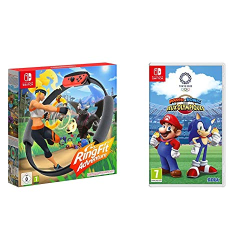Ring Fit Adventure pour Nintendo Switch & Mario & Sonic at the Olympic Games Tokyo 2020