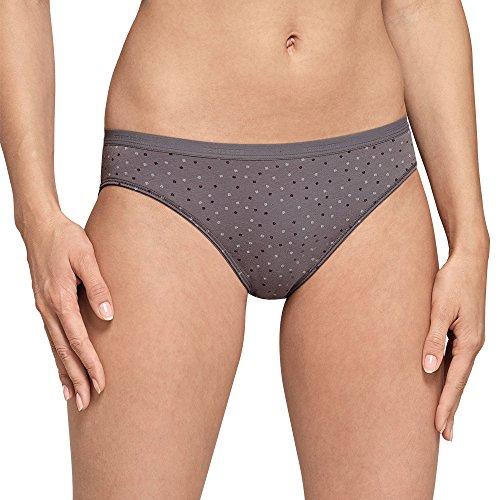 Schiesser Damen Selected Premium Tai (2er Pack) Slip, Mehrfarbig (Sortiert 1 901), 38 (Herstellergröße: 038)