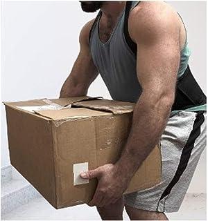 ZYXYBF 1pcs de los hombres de la correa trasera de la ayuda el dolor de espalda elevación de cargas pesadas de trabajo de la correa del protector de correa de soporte lumbar del apoyo trasero Volver C