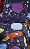 Catherine Lansfield Kids Outer Space Single Quiltset - Multi