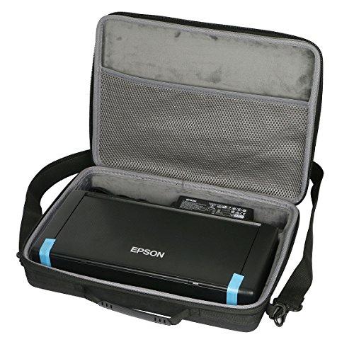 co2crea Hard Travel Case Bag for Epson Workforce WF-100 Wireless Mobile Printer (Only Case)