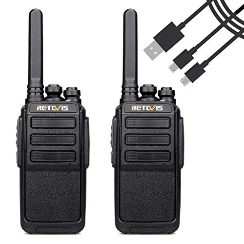 Retevis RT28 Walkie Talkie Recargable PMR 446 sin Licencia