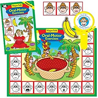 Super Duper Publications Magnetic Oral-Motor Exercises Board Game Educational Learning Resource for Children