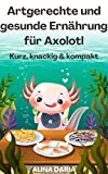 Artgerechte und gesunde Ernährung für Axolotl – Kurz, knackig & kompakt