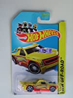 Fig Rig (Yellow) Diecast Pickup (Hot Wheels)(2013)