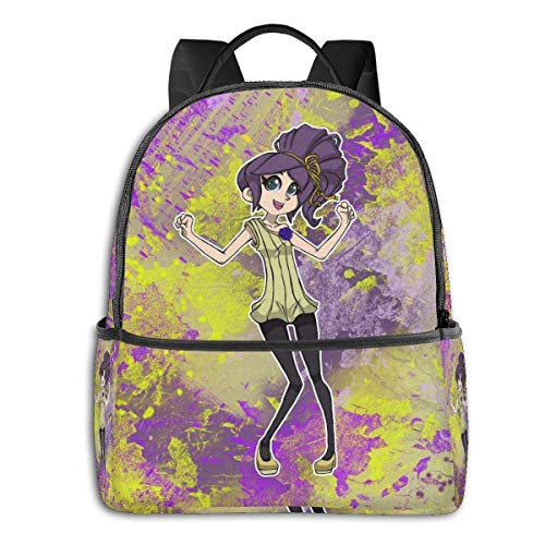 Shadows of The Ecliptic Sunni Girl-Original Character Student School Bag School Cycling Leisure Travel Camping Outdoor Bapack