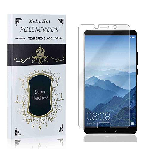Displayschutzfolie für Huawei Mate 10, MelinHot 3D Touch Schutzfolie aus Gehärtetem Glas für Huawei Mate 10, Hoch Transparenz, Keine Luftblasen, 4 Stück