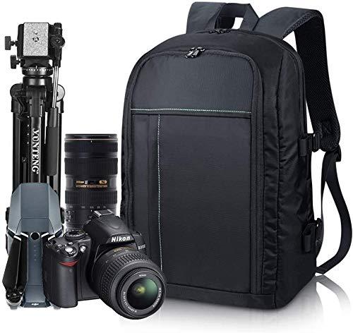 Estarer Kamerarucksack Kameratasche Fotorucksack SLR/DSLR/Spiegelreflex Wasserabweisend 15,6'' Rucksack mit Schultergurt Laptopfach Regenhülle