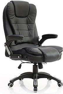 Chaises de réception Accueil siège en Cuir de Vachette véritable Chaise de Bureau Chaise de Salon de Chambre à Coucher Fau...