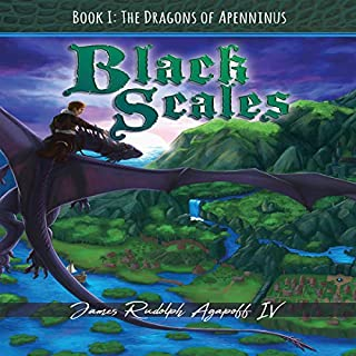 Black Scales Book I: The Dragons of Apenninus cover art