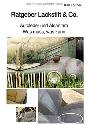 Lackstift & Co. / Ratgeber - Was muss, was kann, Autoleder und Alcantara: Wartung und Pflege