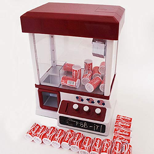 UFOキャッチャークレーンゲームマシン + ミニコーラ菓子 30個  22484