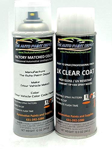 Auto Paint Depot Touch Up Paint for Toyota RAV4-Lunar Rock 6X3 (All Years) 12oz Aerosol Spray with Clear Coat