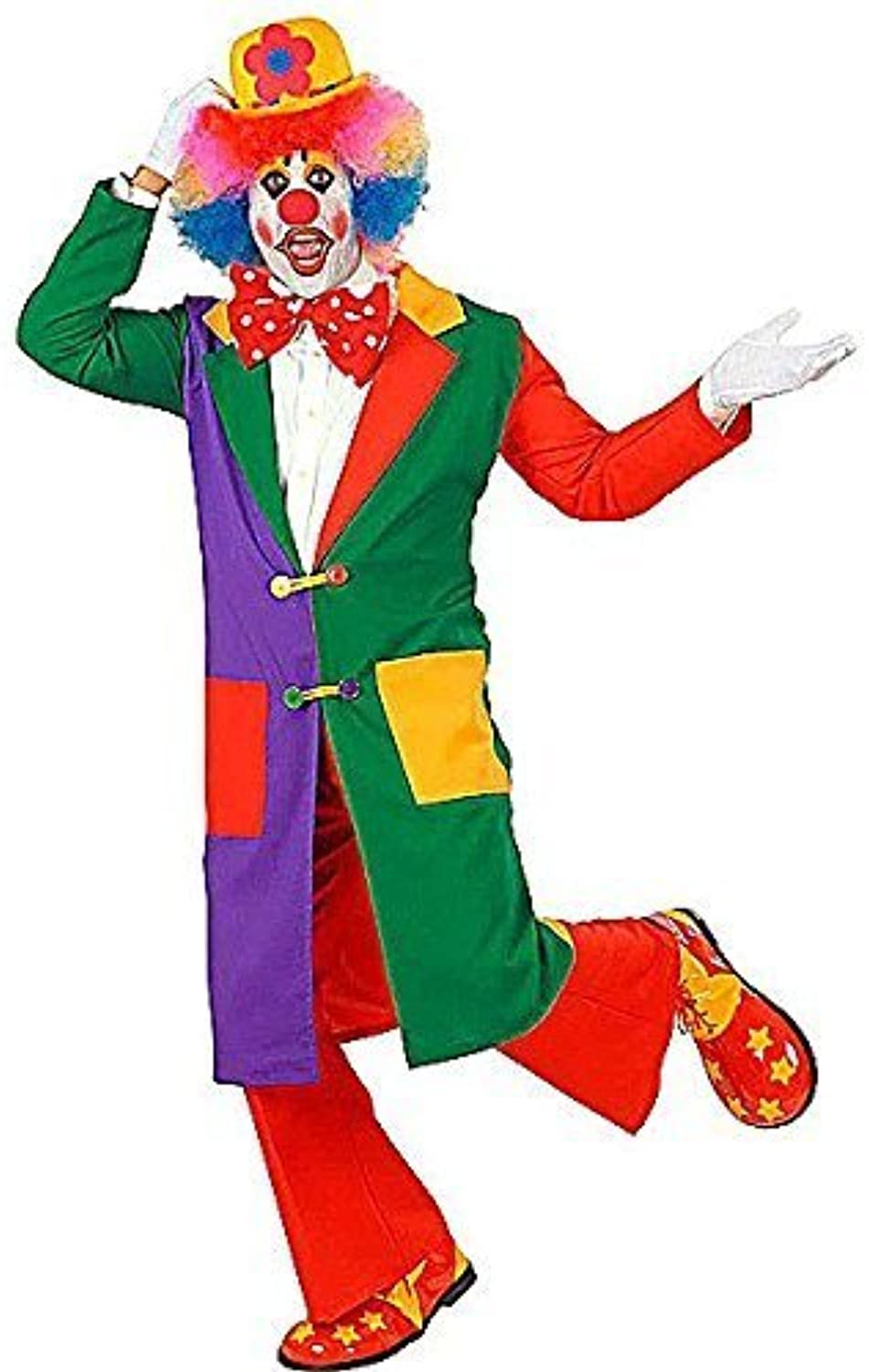 Todo en alta calidad y bajo precio. Clown Clown Clown Long Coat Costume Large for Circus Fancy Dress by WIDMANN S.R.L.  se descuenta