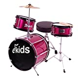 Ekids DSJ90PK - Batería junior, color rosa