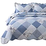 Bedsure 2-Piece Printed Quilt Set Twin Size (68x86...