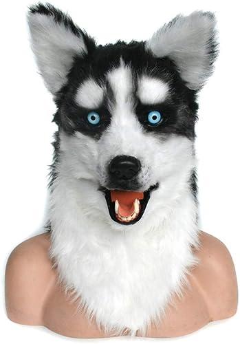 WENQU Naturalistic à La Main Personnalisé Cosplay Bouche Masque Bouche Buirdly Simulation Animal Masque (Couleur   marron, Taille   25  25)