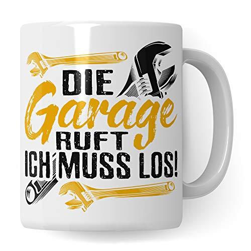 Pagma Druck Handwerker Tasse Geschenkidee - Schrauber Automechaniker Geschenk Autoschrauber Spruch Becher - Kaffeetasse Auto Mechatroniker