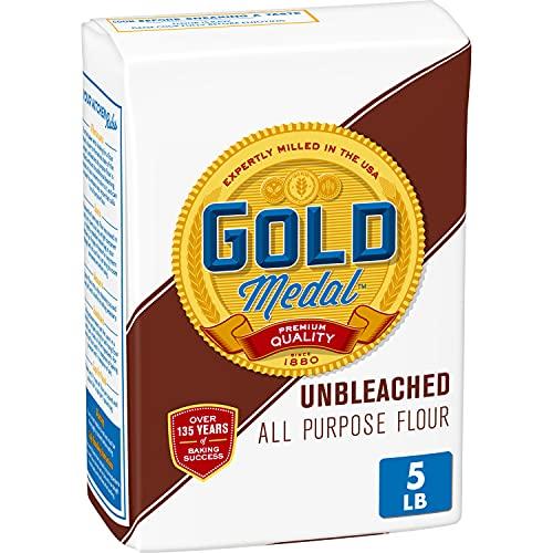 Gold Medal, Unbleached Flour, 5 lb