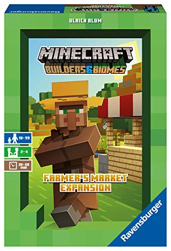 Ravensburger Spiele 26869 - Minecraft Builders & Biomes Expansion