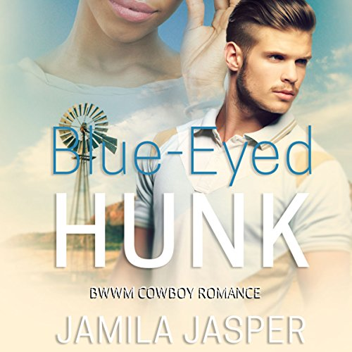 Blue Eyed Hunk audiobook cover art