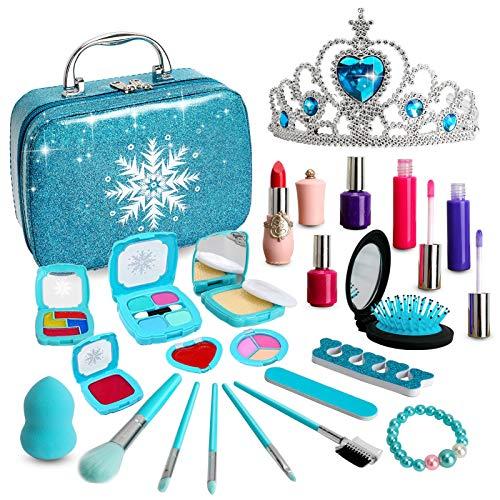 ROKKES Washable Kids Makeup Girls Gifts - Real Makeup Set Washable Make Up...