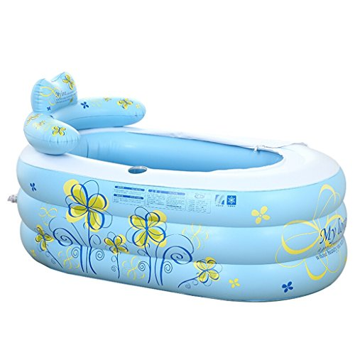 Grande Baignoire Gonflable Baignoire Familiale Baignoire Jeune Piscine Baignoire Pliante Baignoire Baignoire Seau (taille : 130 * 70 * 75)