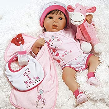 Paradise Galleries Reborn Baby Doll Lifelike Tall Dreams Gift Set Ensemble 19-inch Weighted Baby Safety Tested for 3 Year Old Girls