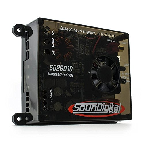 soundigital sd3000.1d Evo II Amplificateur monofonico 3000/Watt RMS Sound Digital Version 2Ω ohmm SD Full Range classe d