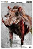 Champion Traps and Targets Visicolor Zombie Target-Bulk Pack (Vicious Animal, 50-Counts)