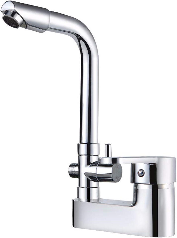 LIANTIAN Copper Double Handle Double Hole hot and Cold Water Faucet seat Type Copper Valve core Kitchen Bathroom Basin Faucet Bathroom Sink Taps