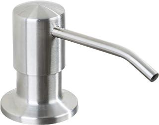Frap Inbouw zeepdispenser roestvrij staal/afwasmiddeldispenser voor keuken/zeepdispenser spoelbak van bovenaf vulbaar