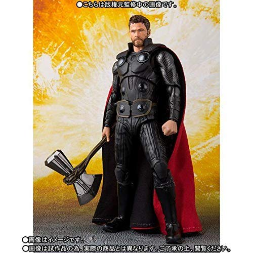 Bandai S.H.Figuarts Thor Marvel Avengers Infinity War Figure Japan Import